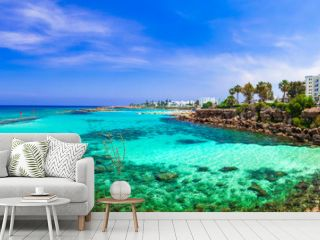 Summer vacation in Cyprus island. Protaras , Fig tree bay