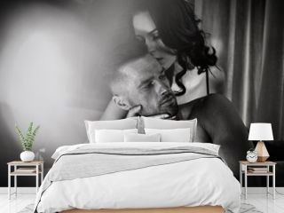 Art portrait of a sensual couple