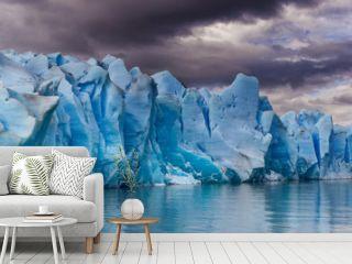 Panorama of the Grey Glacier