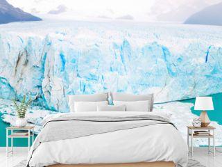 Panorama of glacier Perito Moreno, southeast of Argentina