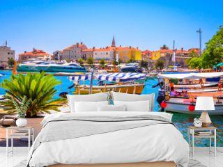 Port in old town Budva, Montenegro