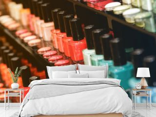 Different nail polishes