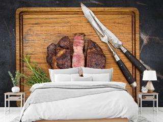 Steak gegrillt