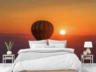 Goreme, Turkey - A Unesco World Heritage site, Goreme and Cappadocia are famous also for the spectacular ballooning excursions. Here in particular a sunrise ballooning
