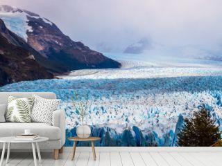 The glacier Perito Moreno on Lake Argentino