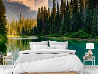Canada rockies, Yoho national park, Emerald lake