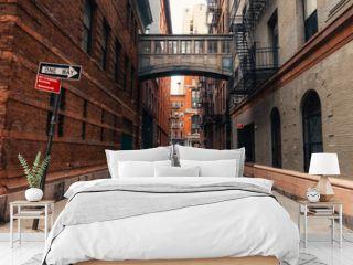 Staple street in New york city