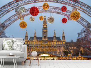 Christmas Market in Vienna, Austria