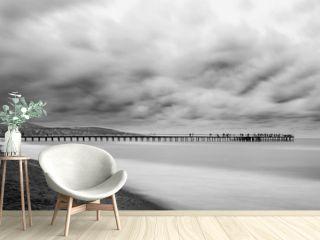 Long exposure Atakum Pier, Samsun, Turkey