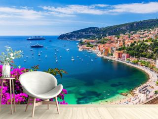 Villefranche sur Mer, France. Seaside town on the French Riviera (or Côte d'Azur).