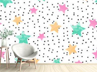 cute seamless kids pattern