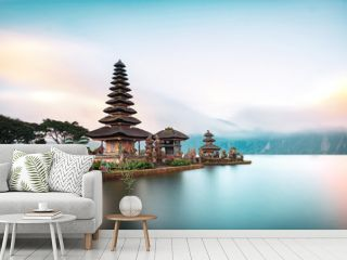 Ulun Danu Beratan Temple is a famous  landmark located on the western side of the Beratan Lake , Bali ,Indonesia.
