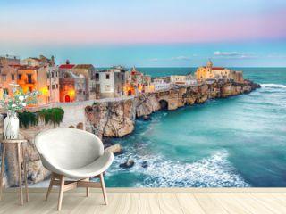 Vieste - beautiful coastal town on the rocks in Puglia