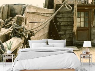 piracy wooden ship