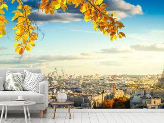 eiffel tour and Paris cityscape