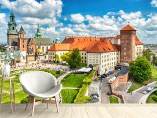 Wawel Castle during the Day, Krakow