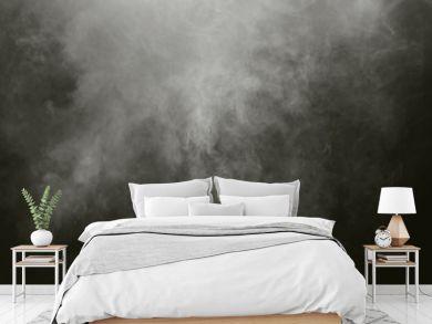 white Fog smoke air overlays