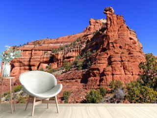 Red rock desert landscape of Sedona, Arizona a spiritual location for retreats and many spa