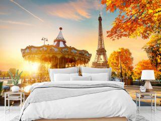 Park near Eiffel tower