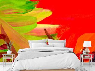 Abstract oil painting background. Oil on canvas texture. Hand drawn oil painting