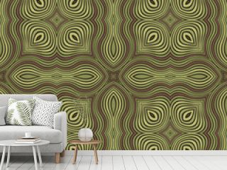 Abstract ornamental patch seamless pattern