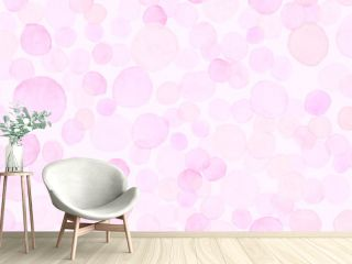 Pastel Seamless Girly Wrapping. Decorative