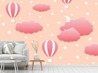 Air Balloon Paper Pattern