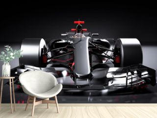 Fast F1 car. Formula one racing sportscar.