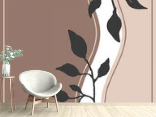 earth colored modern boho design