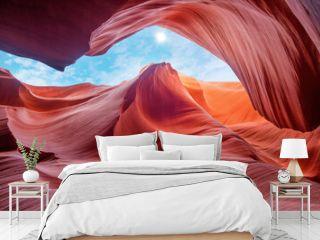 Antelope Canyon Arizona - Art and travel concept