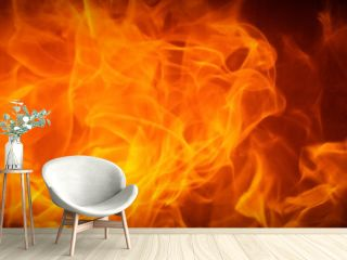 Fire flame texture background. Abstract flames, Blaze for banner. Burning concept.