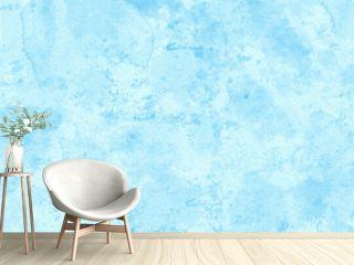 水色水彩画筆跡コラージュテクスチャ背景和紙風素材横長高解像度350印刷対応