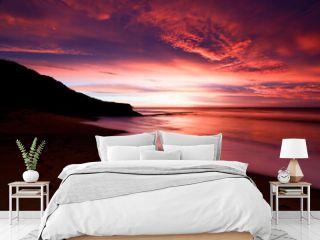 Bells Beach at Sunrise in Australia