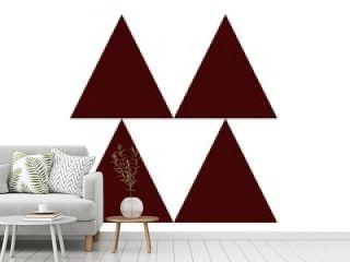 pyramid of trees