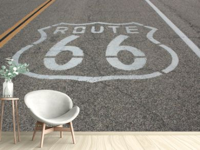 Mythical highway Route 66 pain on the road