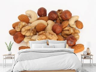 pile  of assorted nuts