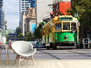 Strassenbahn in Melbourne