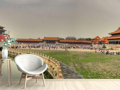 Awesome Forbidden City in Beijing (Peking) (Panorama)