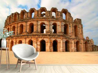 Coliseum in El Djem Tunisia Africa