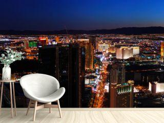 Las Vegas City skyline panorama