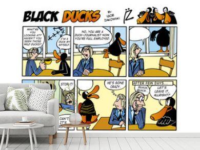 Black Ducks Comic Strip episode 55