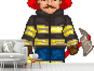 PixelArt: Firefighter