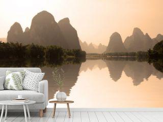 Rivière Li, région de Guilin - Guangxi, South China