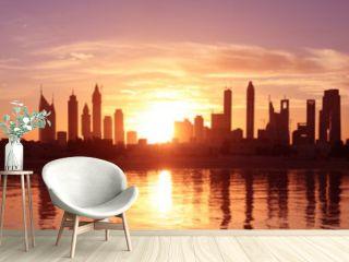 Cityscape Dubai, Sunset