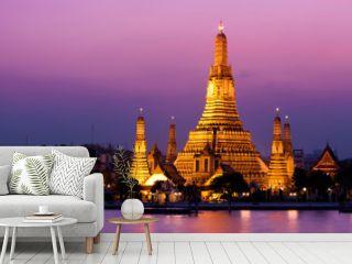 Wat Arun (Temple de l'Aube), Bangkok, Thaïlande