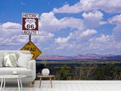 Route 66 - dead end