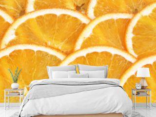 Orange in Scheiben