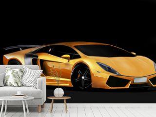 Orange super car
