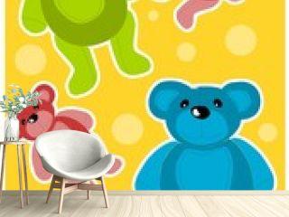 Teddy bears background