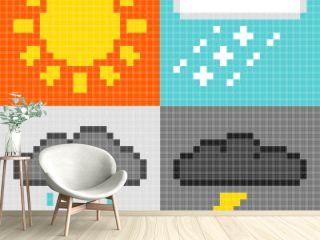 Pixel Weather Symbols